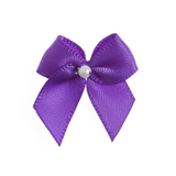 Purple Pearl Crossover Bow 6pk