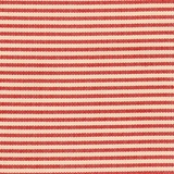 Red Ticking Stripe Fabric For Craft & Bag Making