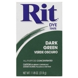 Rit Powder Dye Dark Green