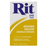 Rit Powder Dye Golden Yellow