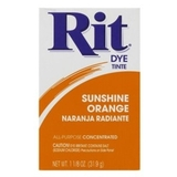 Rit Powder Dye Sunshine Orange