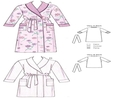 Kwik Sew K3644 | Robes | Size (XS-S-M-L-XL) | Sewing Pattern  2
