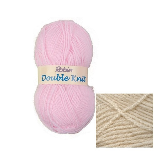 Yarn Knitting Wool & Crochet Yarn Robin Oyster Double Knitting Yarn ...