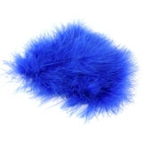 Royal Blue Marabou Feathers 20pk