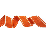 Satsuma Orange Heavy Duty Webbing Fabric For Bag Straps 34mm