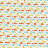 Sealife Little Fun Fish Fabric
