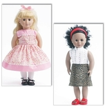 See and Sew 18 Inch Doll Clothes B5553