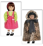 See and Sew 18 Inch Doll Clothes B5671