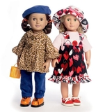 See and Sew 18 Inch Doll Clothes B5944