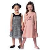 See and Sew Childrens Dress B5937 Size 2,3,4.5,6,7,8