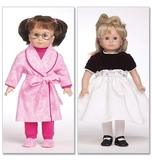 See and Sew Doll Clothes for 18 Inch Doll Size One Size
