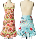 See and Sew Girls Misses Aprons B5943 Size S, M , L, XL