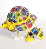See and Sew Infants Hats and Shoes B5941 Size OSZ