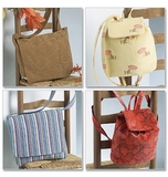 See and Sew Utility bags B4583 One Size