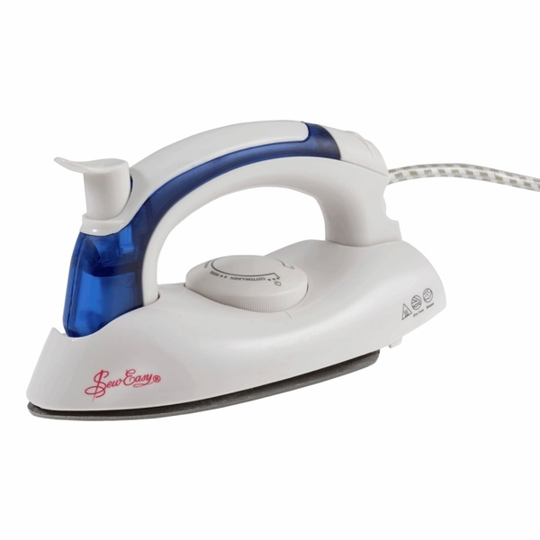 Sew Easy Steam Iron with Non-Stick Soleplate 700w Irons & Ironing Presse