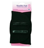 Shoulder Pads Set In Medium Black