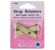 Shoulder Strap Retainer With Safety Pin Skin
