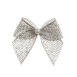 Silver Pearl Crossover Bow 6pk