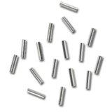 Silver Tube Spacers 50pk