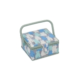 Small Modern Kitty Sewing Basket