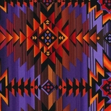 Southwest Blanket Sunset Fabric