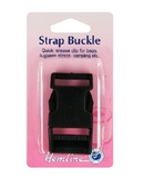 Strap Buckle Black 25mm.