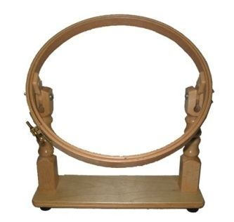 table stand 10 inch embroidery frame hoops amp frame table - Embroidery Frames
