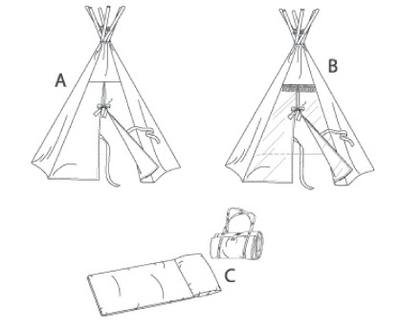 Butterick Teepee And Mat