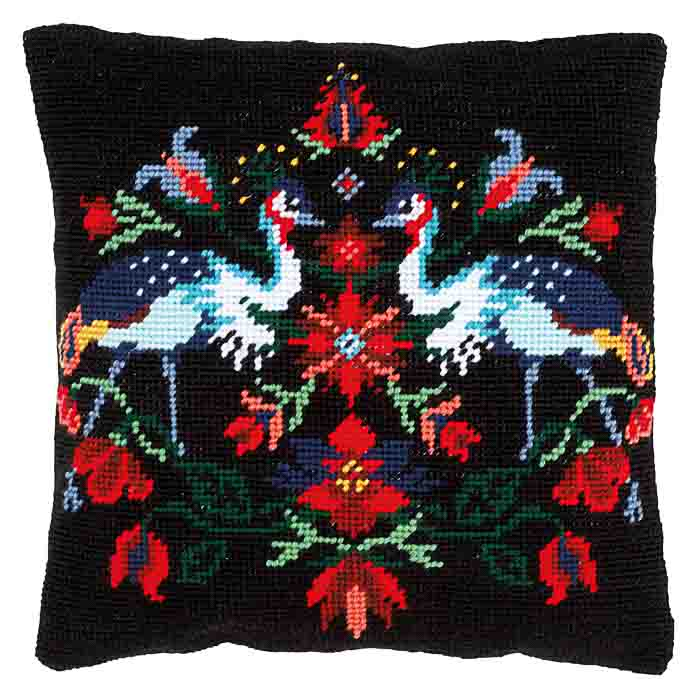 Vervaco Tapestry Kit: Cushion: Camille | PN_0168275 Animals & Birds TK
