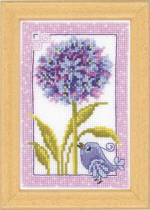 Vervaco Counted Cross Stitch Kit: Agapanthus