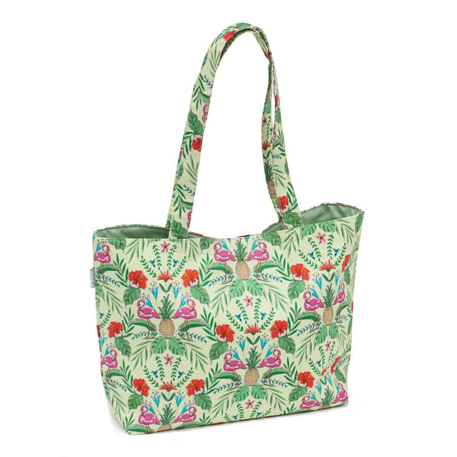 HobbyGift Classic Collection: Medium Tote Bag: Tropical Lime | HGTBM_457