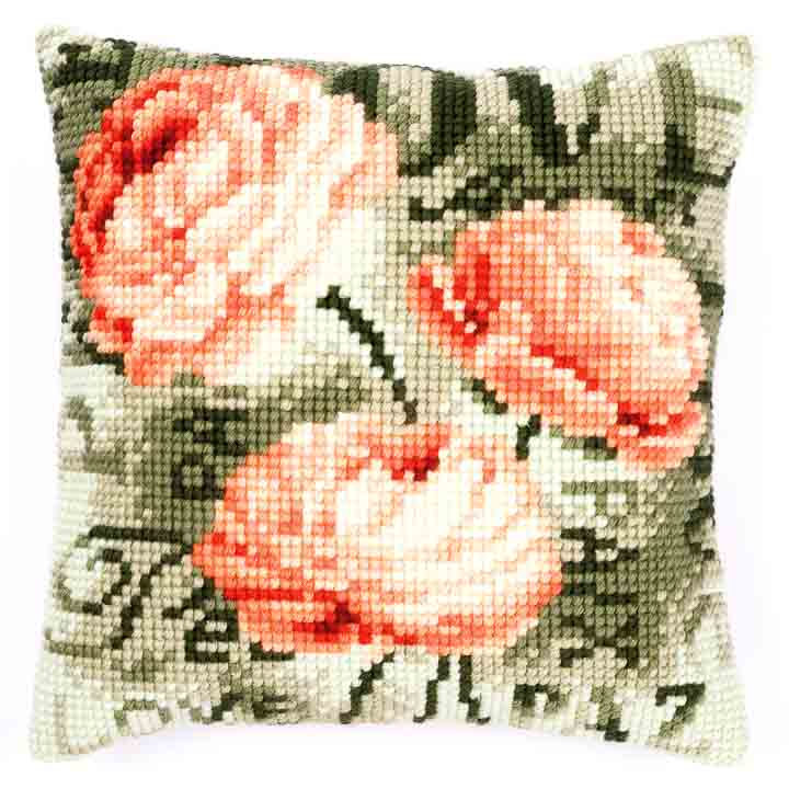 Vervaco Cross Stitch Cushion: Pony