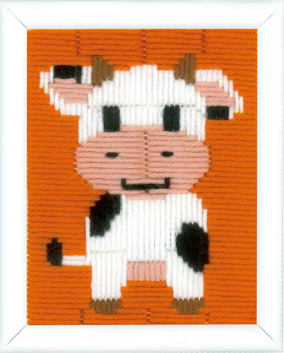 Vervaco Long Stitch Kit: Cow