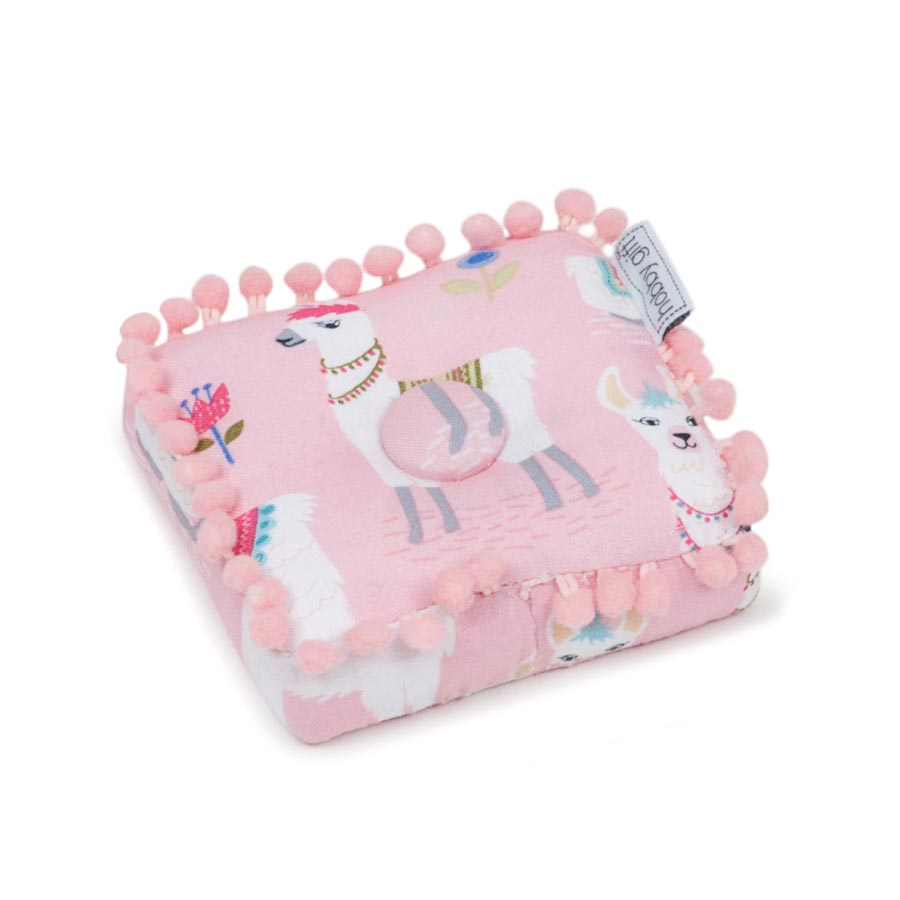 HobbyGift Classic Collection: Square Pin Cushion: Alpaca Adventure | PCSQ_467