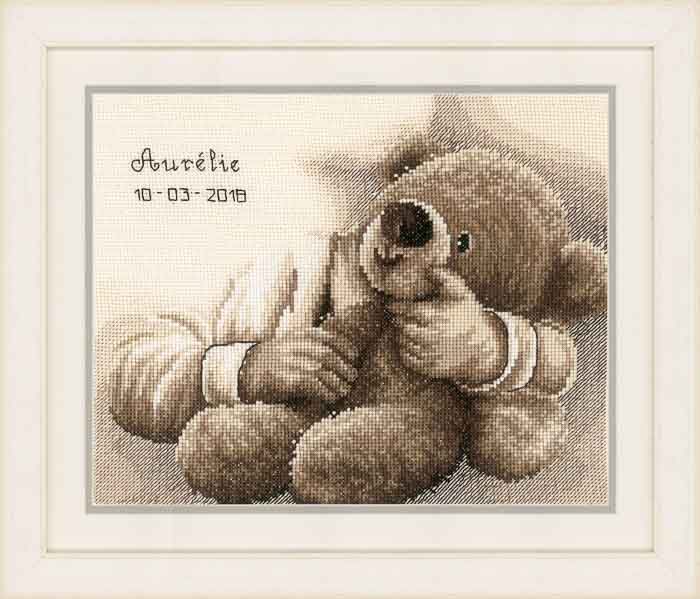 Vervaco Counted Cross Stitch Kit: Teddy Bear | PN_0163748