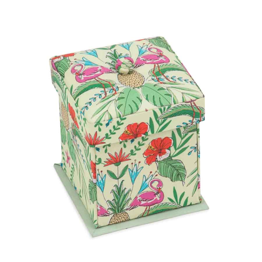HobbyGift Classic Collection: Victorian Sewing Case (Contents Included): Tropical Lime | SCV_457