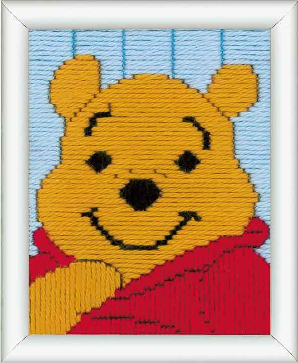 Vervaco Long Stitch Kit: Winnie The Pooh