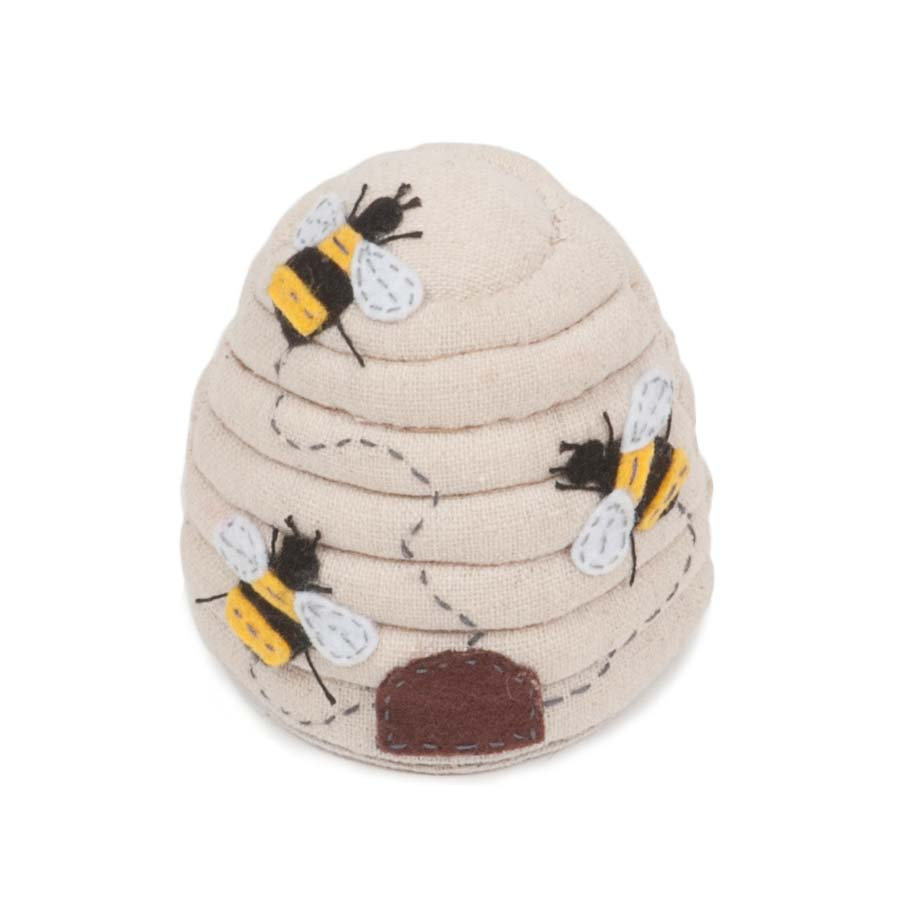 HobbyGift  PCBEE_347 | Classic Collection: Bee Hive Pin Cushion: Bee