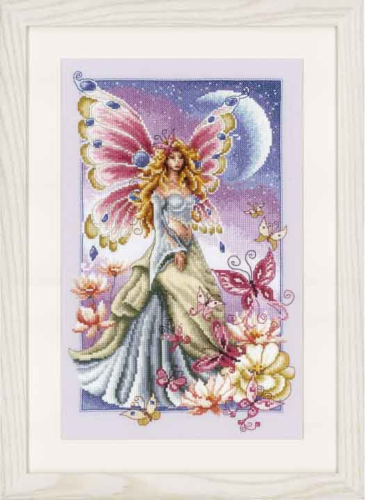 Vervaco Counted Cross Stitch: Butterfly Fairy Insects & Bugs CSK
