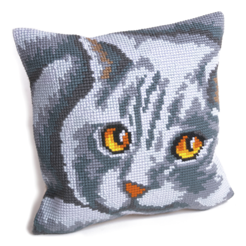 Collection D Art Cross Stitch Cushion: Persian