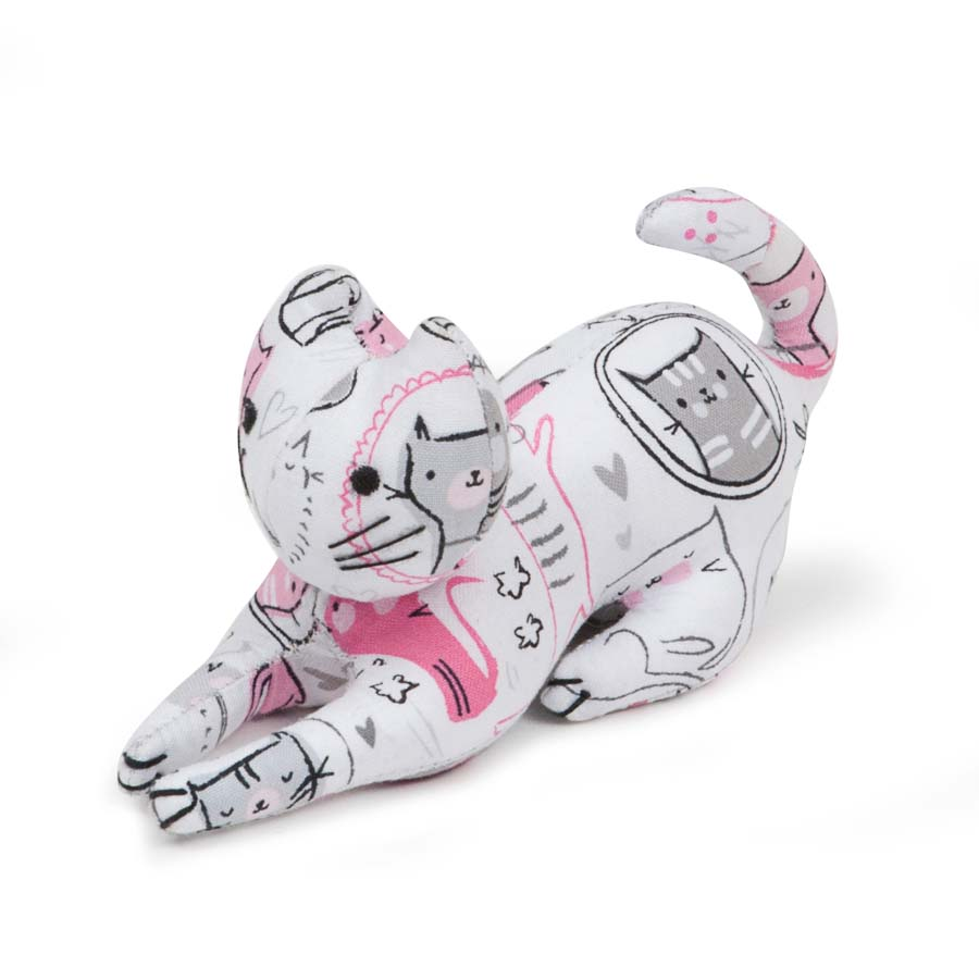 HobbyGift Classic Collection: Cat Pin Cushion: Meow | PCCAT466