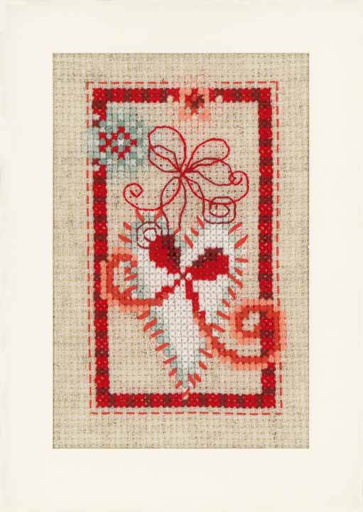 Vervaco Counted Cross Stitch Greeting Cards: Christmas Symbols