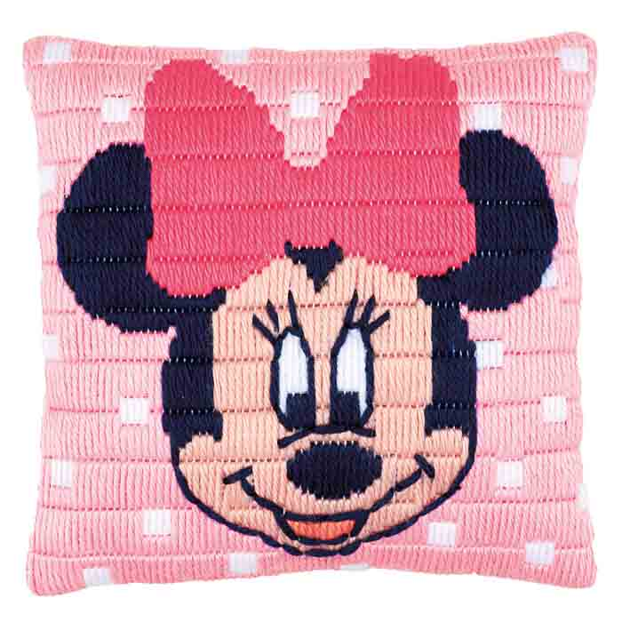 Vervaco Long Stitch Kit: Cushion: Disney: Minnie Mouse | PN_0169203
