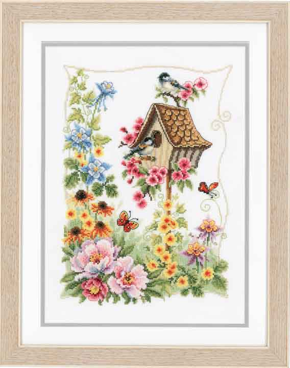 Vervaco Counted Cross Stitch Kit - The Bird House