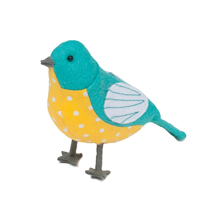 HobbyGift PCB_451 |  Premium Collection: Pin Cushion: Birds