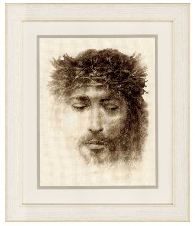 Vervaco Counted Cross Stitch Kit: Jesus