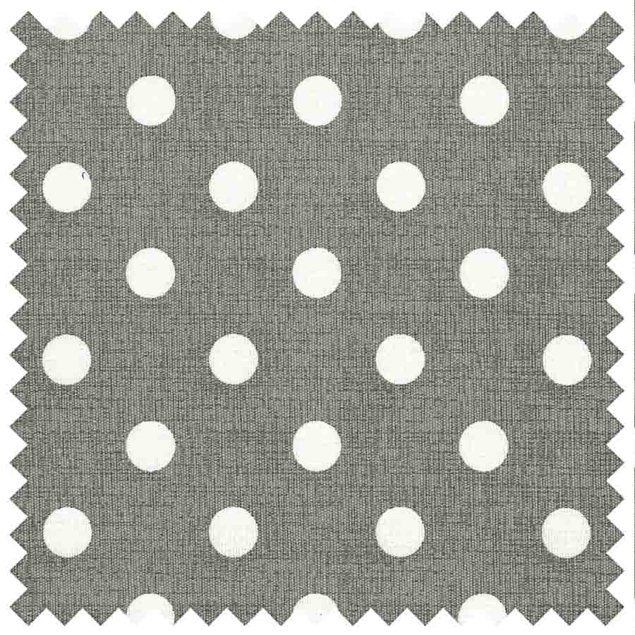 HobbyGift MR4660_268 | Sewing Machine Bag | Matt PVC | Grey Linen Polka Dot Sewing Machine Bags  3