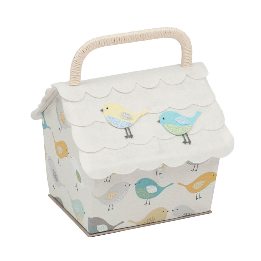 HobbyGift Premium Collection: Birdhouse Sewing Box: Birds | HGBH_451