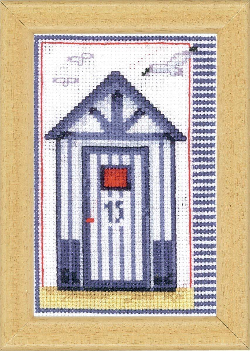 Vervaco Counted Cross Stitch Kit: Beach Shed | PN_0144662