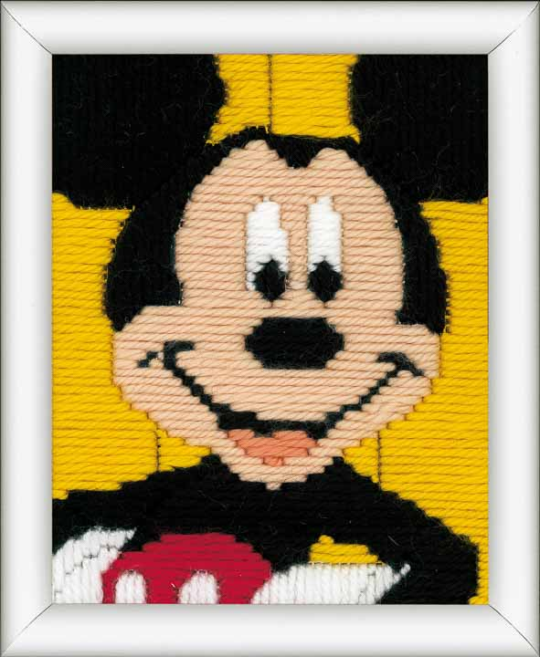 Vervaco Long Stitch Kit: Mickey Mouse